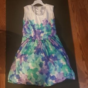 Pastel colored dress for special occasions